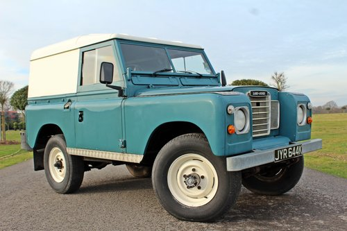 1972 Land Rover Series 3 200 Tdi For Sale (picture 1 of 10)
