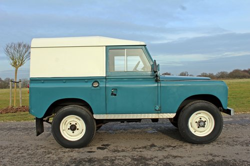 1972 Land Rover Series 3 200 Tdi For Sale (picture 2 of 6)