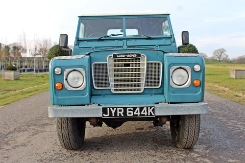 1972 Land Rover Series 3 200 Tdi For Sale (picture 3 of 6)