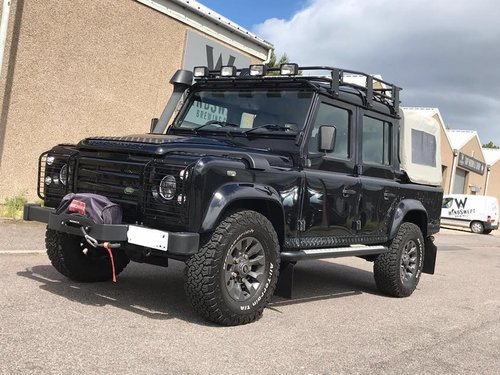 2008 Landrover Defender 110 Double Cab - Pickup, County SOLD (picture 2 of 6)