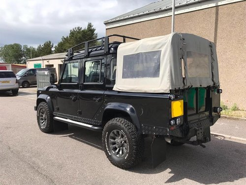 2008 Landrover Defender 110 Double Cab - Pickup, County SOLD (picture 3 of 6)