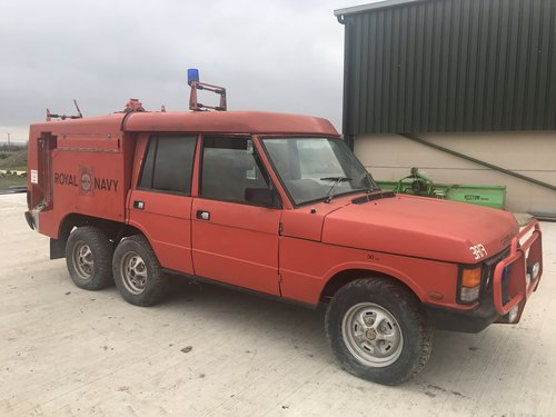 1987 Carmichael 6 wheel fire engine SOLD (picture 2 of 6)