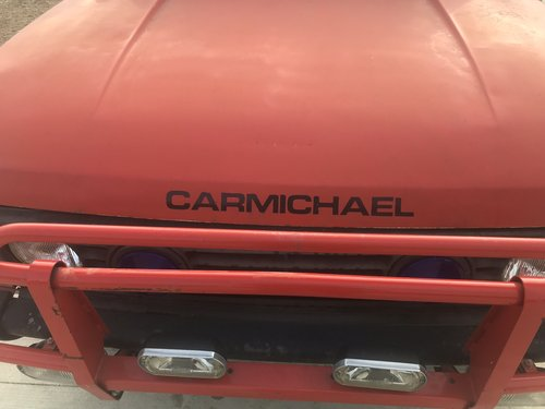 1987 Carmichael 6 wheel fire engine SOLD (picture 5 of 6)