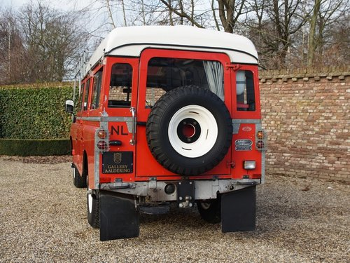 1976 Land Rover 109 2.6 six cylinder Series 3 LHD Dormobile campe For Sale (picture 6 of 6)