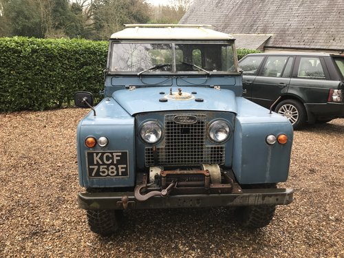 Land Rover Series 2a IIa 1967 88 SOLD (picture 1 of 6)