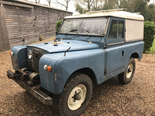 Land Rover Series 2a IIa 1967 88 SOLD (picture 2 of 6)