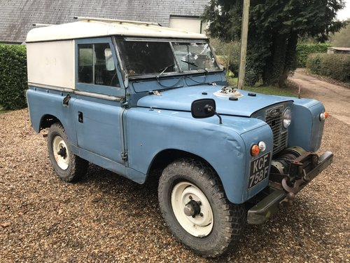 Land Rover Series 2a IIa 1967 88 SOLD (picture 3 of 6)