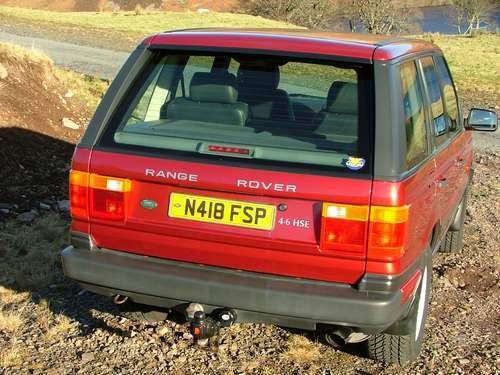 1996 Range Rover HSE A at Morris Leslie Auction 23rd February SOLD by Auction (picture 3 of 6)
