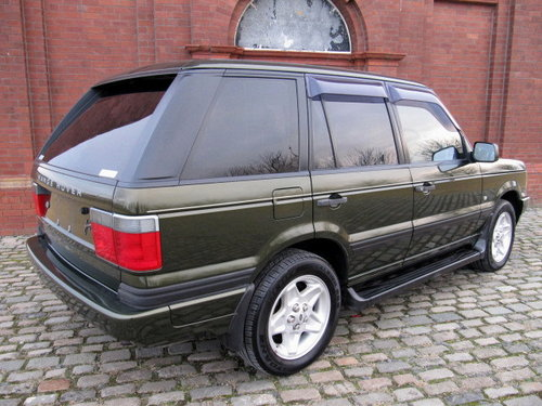 1999 LAND ROVER RANGE ROVER 4.6 INVESTABLE AUTOBIOGRAPHY EDITION For Sale (picture 2 of 6)