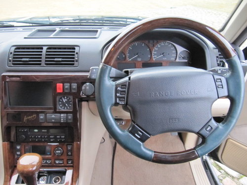 1999 LAND ROVER RANGE ROVER 4.6 INVESTABLE AUTOBIOGRAPHY EDITION For Sale (picture 5 of 6)