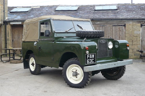 LAND ROVER SERIES 2A  SOLD (picture 1 of 1)