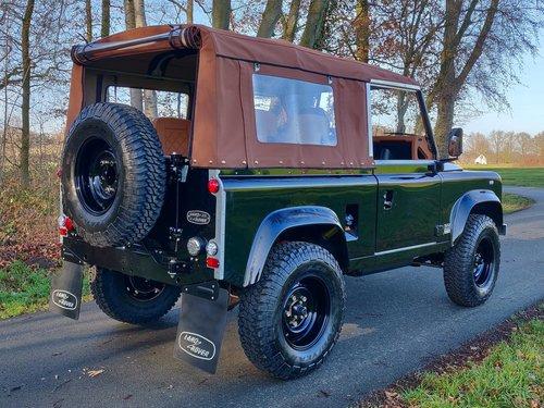 1992 Land Rover Defender 90 Soft Top 200 Tdi rebuild HERITAGE For Sale (picture 2 of 6)