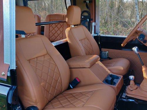 1992 Land Rover Defender 90 Soft Top 200 Tdi rebuild HERITAGE For Sale (picture 4 of 6)