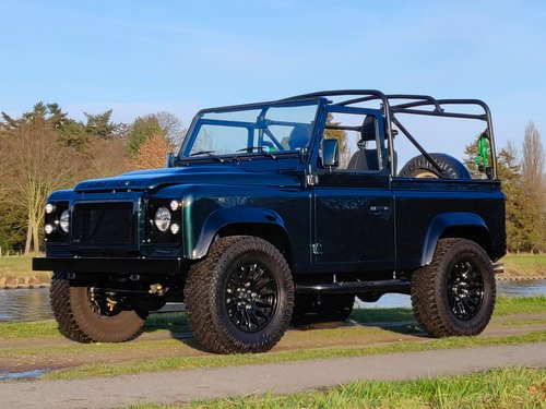1994 Land Rover Defender 90 Soft Top 300 Tdi rebuild For Sale (picture 1 of 6)