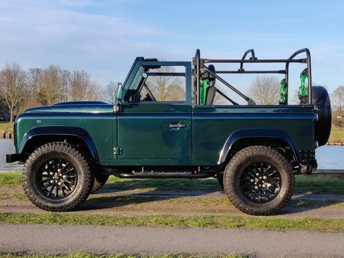 1994 Land Rover Defender 90 Soft Top 300 Tdi rebuild For Sale (picture 2 of 6)