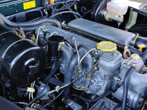 1994 Land Rover Defender 90 Soft Top 300 Tdi rebuild For Sale (picture 6 of 6)