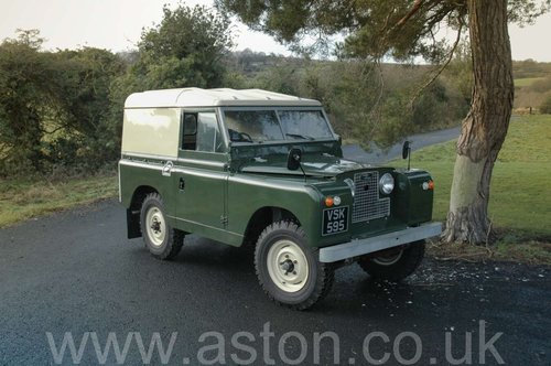 1959 Land Rover Series II SOLD (picture 1 of 6)