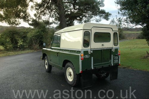 1959 Land Rover Series II SOLD (picture 2 of 6)