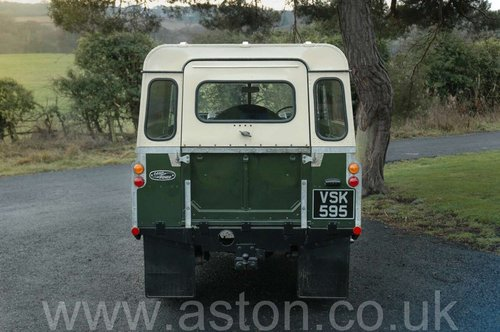 1959 Land Rover Series II SOLD (picture 3 of 6)