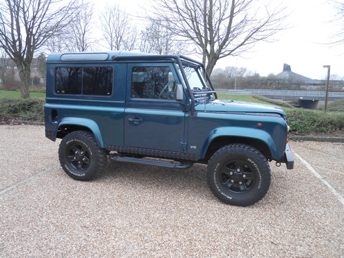 1998 Land Rover Defender 50th Anniversary Edition For Sale (picture 1 of 6)