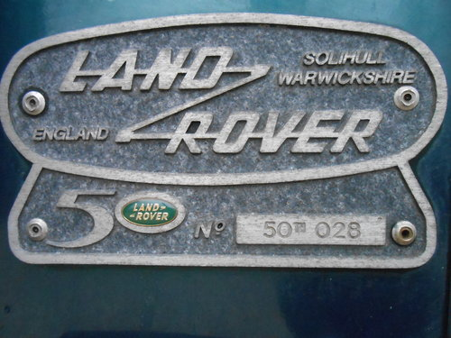 1998 Land Rover Defender 50th Anniversary Edition For Sale (picture 4 of 6)