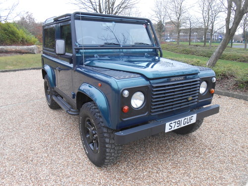1998 Land Rover Defender 50th Anniversary Edition For Sale (picture 6 of 6)