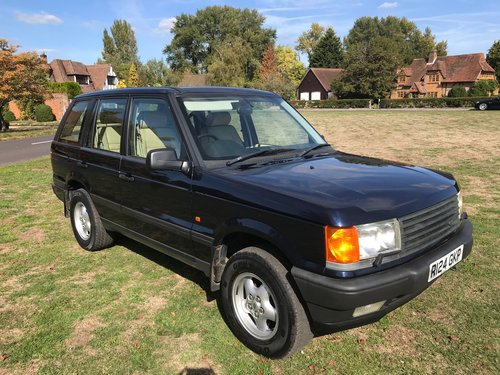 1998 Range Rover P38 HSE only 45k Miles For Sale (picture 1 of 6)