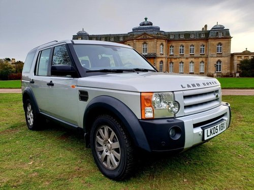 2005 LHD LAND ROVER DISCOVERY 3  2.7 TURBO DIESEL LEFT HAND DRIVE For Sale (picture 1 of 6)