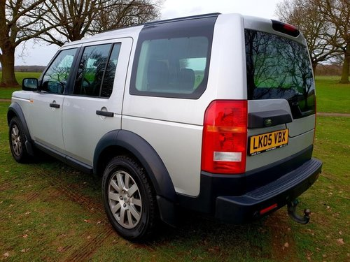 2005 LHD LAND ROVER DISCOVERY 3  2.7 TURBO DIESEL LEFT HAND DRIVE For Sale (picture 4 of 6)