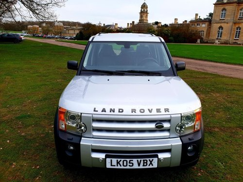 2005 LHD LAND ROVER DISCOVERY 3  2.7 TURBO DIESEL LEFT HAND DRIVE For Sale (picture 2 of 6)