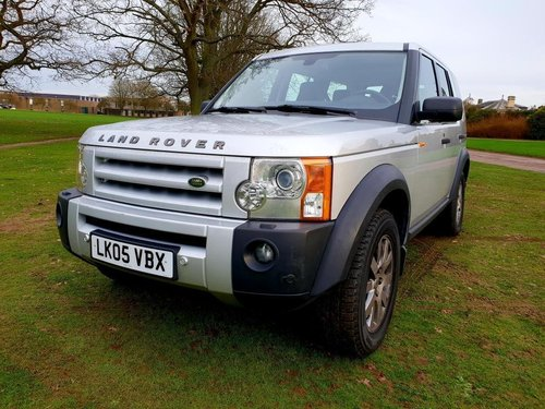 2005 LHD LAND ROVER DISCOVERY 3  2.7 TURBO DIESEL LEFT HAND DRIVE For Sale (picture 3 of 6)