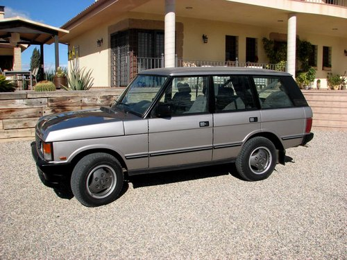 1993 Range Rover Vogue Original Full History.LR (LHD) For Sale (picture 1 of 6)
