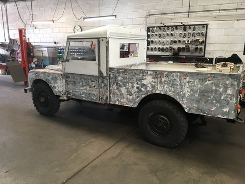 Landrover series one 1957 long wheel Base For Sale (picture 1 of 5)