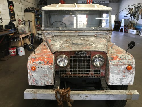 Landrover series one 1957 long wheel Base For Sale (picture 2 of 5)