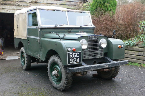1956 Land Rover Series I 86 For Sale by Auction (picture 1 of 6)