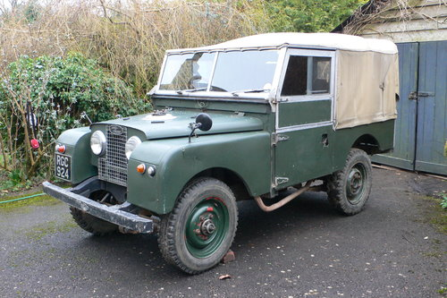 1956 Land Rover Series I 86 For Sale by Auction (picture 2 of 6)