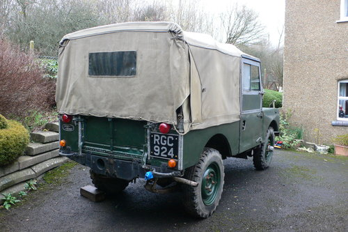 1956 Land Rover Series I 86 For Sale by Auction (picture 3 of 6)
