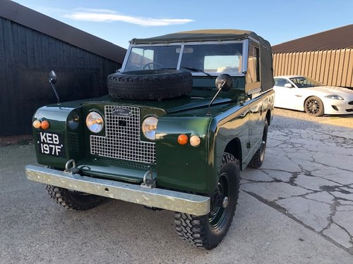 1968 Land Rover ® Series 2a *MOT & Tax Exempt* (KEB) RESERVED SOLD (picture 1 of 6)