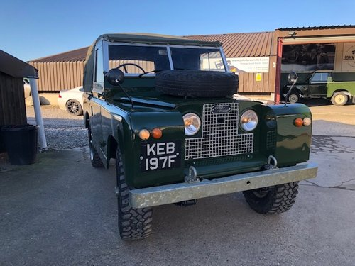 1968 Land Rover ® Series 2a *MOT & Tax Exempt* (KEB) RESERVED SOLD (picture 2 of 6)