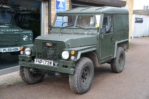 1981 Land Rover Series 3 Lightweight 2 galv chassis For Sale (picture 1 of 6)