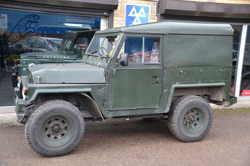 1981 Land Rover Series 3 Lightweight 2 galv chassis For Sale (picture 2 of 6)