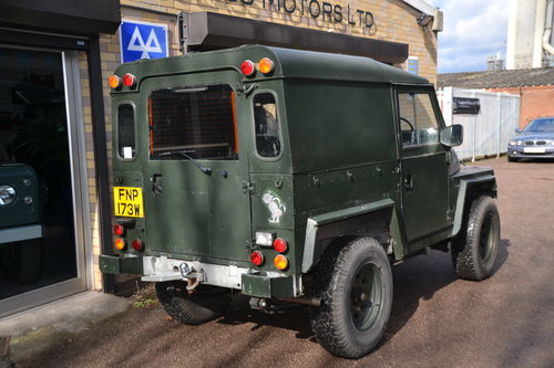 1981 Land Rover Series 3 Lightweight 2 galv chassis For Sale (picture 3 of 6)