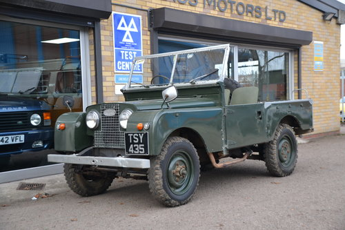 1958 Land Rover Series 1 Rare Military Factory 4x2 For Sale (picture 1 of 6)