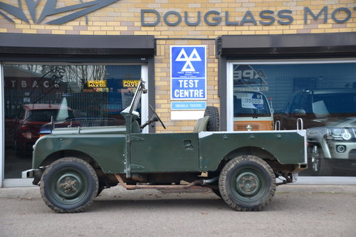 1958 Land Rover Series 1 Rare Military Factory 4x2 For Sale (picture 2 of 6)
