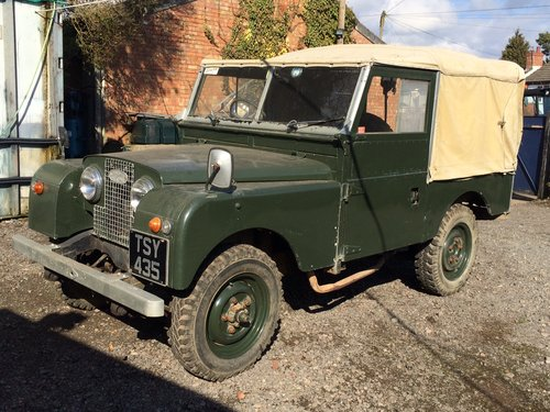 1958 Land Rover Series 1 Rare Military Factory 4x2 For Sale (picture 3 of 6)