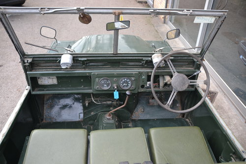 1958 Land Rover Series 1 Rare Military Factory 4x2 For Sale (picture 4 of 6)
