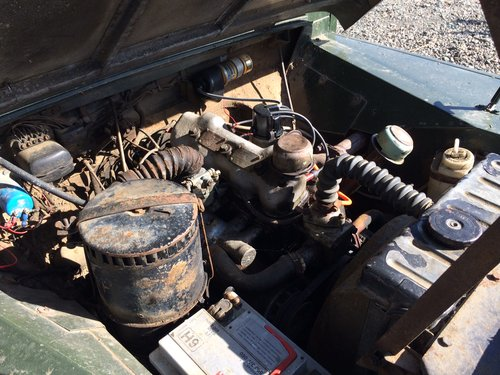 1958 Land Rover Series 1 Rare Military Factory 4x2 For Sale (picture 5 of 6)