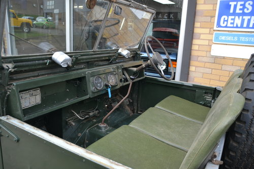 1958 Land Rover Series 1 Rare Military Factory 4x2 For Sale (picture 6 of 6)