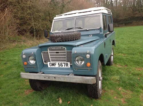 Land rover1976 swb countryman For Sale (picture 1 of 6)
