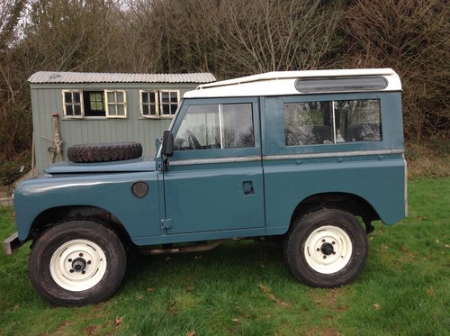 Land rover1976 swb countryman For Sale (picture 2 of 6)